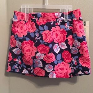 OshKosh Girls 12 mnth floral skirt NWT